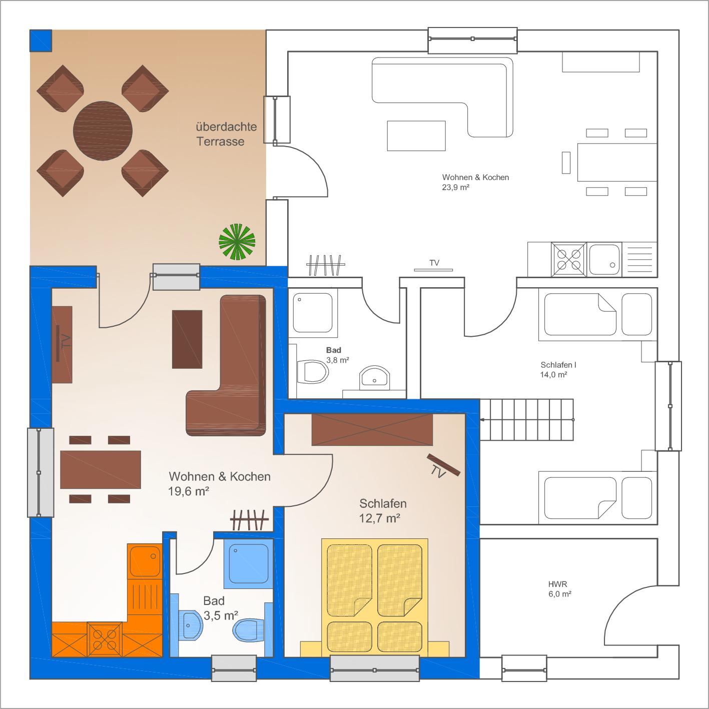 Schlafzimmer Kleiner Raum mit genial design für ihr wohnideen